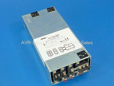 Cosel ACE650F Power Supply AC6-TEH2H-02 w/ 5V 9V 12V & 24V Output | Load Tested!