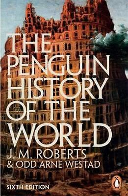 NEW Penguin History Of The World By J. M. Roberts Paperback Free Shipping