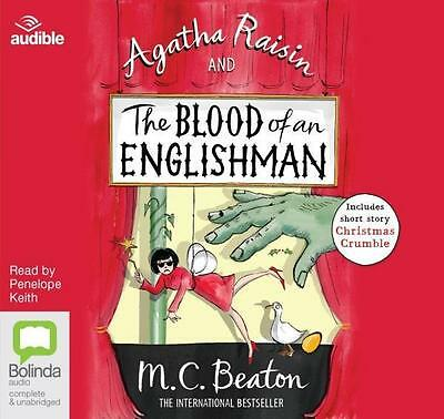 NEW The Blood of an Englishman By Penelope Keith Audio CD Free Shipping