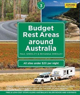 NEW Budget Rest Areas Around Australia By Paul Smedley Spiral Ringed Book