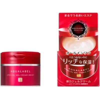 ☀ Shiseido AQUALABEL Special Gel Cream with Collagen Hyaluronic Acid 90g Japan ☀