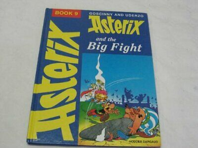 Asterix and the Big Fight by Goscinny Hardback Book The Cheap Fast Free Post