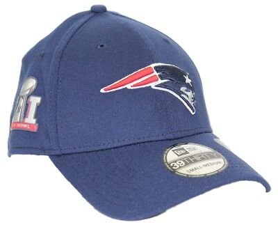 e7182df6ed0c2 New England Patriots New Era 39THIRTY NFL Team Classic Super Bowl Side  Patch Hat
