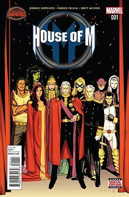 House Of M Issue #1 (Marvel) Comic!