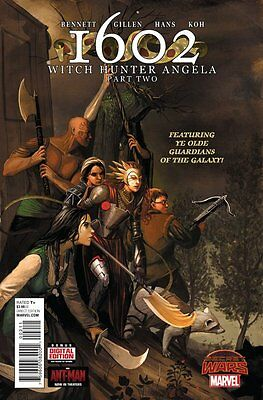 1602: Witch Hunter Angela Issue #2 (Marvel) Comic!