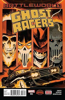 Ghost Racers Issue #3 (Marvel) Comic!
