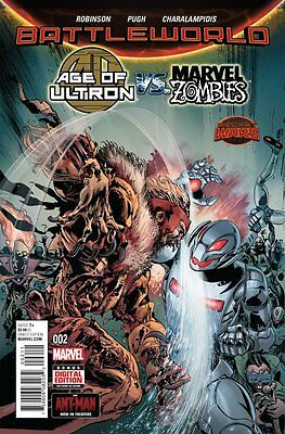 Age Of Ultron Vs. Marvel Zombies Issue #2 (Marvel) Comic!