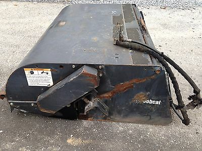 "Used 2008 Bobcat 60"" Sweeper attachment for skid steer"