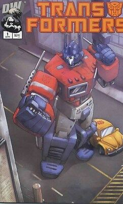Transformers Generation 1, Volume 1, Issue #1F 2nd Printing (Dreamwave) Comic!