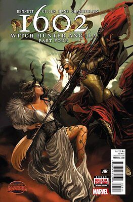1602: Witch Hunter Angela Issue #4 (Marvel) Comic!