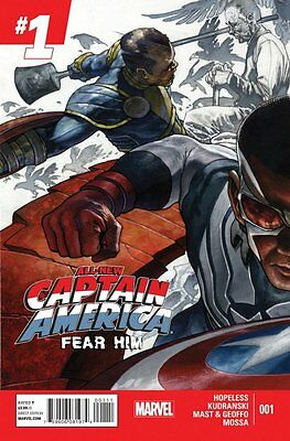 All-New Captain America: Fear Him Issue #1 (Marvel) Comic!