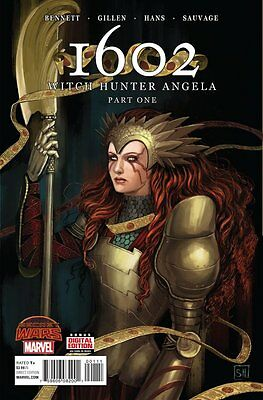 1602: Witch Hunter Angela Issue #1 (Marvel) Comic!