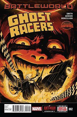 Ghost Racers Issue #2 (Marvel) Comic!