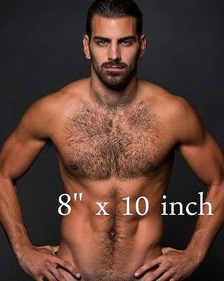 NYLE DIMARCO HAIRY CHEST model Shirtless deaf celebrity BEEFCAKE photo #5