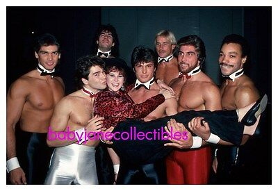 LINDA BLAIR photo HALF NUDE MALE CHIPPENDALES STRIPPERS (109)