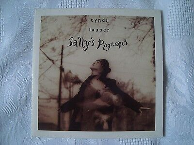 CYNDI LAUPER Sally´s Pigeons rare 2 track cd  Someone like me Twelve deadly cyns