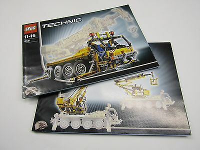 lego technic crane 8421 modified picclick uk. Black Bedroom Furniture Sets. Home Design Ideas