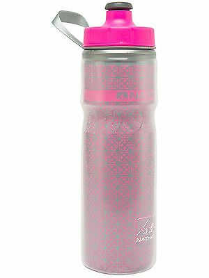 Nathan Hi-viz Pink 2016 Fire and Ice - 600ml Drinks Bottle