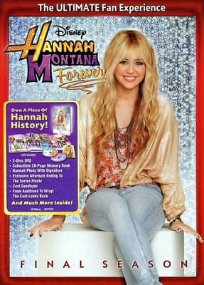 Hannah Montana Forever: Final Season [New DVD] With Book, Widescreen, Dolby, D