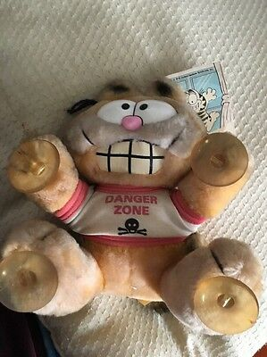 Vintage Garfield Stuck On You - Danger Zone - Rare Free Post