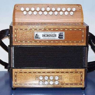Accordion diatonic Hohner Morgane 2 sol/c with bass drum, NEW WARRANTY 2 years