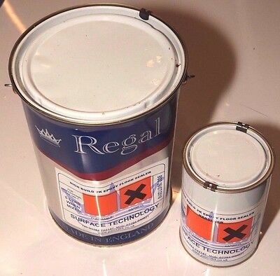 Regal High performance Two Pack epoxy floor sealer 5L