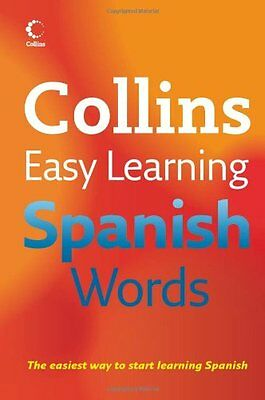 Collins Easy Learning - Collins Easy Learning Spanish Words By Collins
