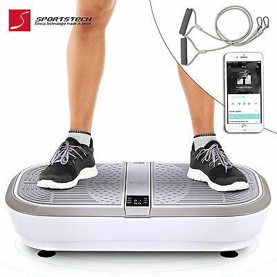 Vibration Plate VP300, 3D Wipp Vibration Technology, BT music, huge surface