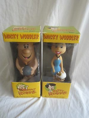 BARNEY RUBBLE & BETTY RUBBLE 2 WACKY WOBBLERS new and sealed (BH)