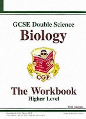 GCSE Double Science: Biology Workbook (With Answers) - Higher By CGP Books, Pad