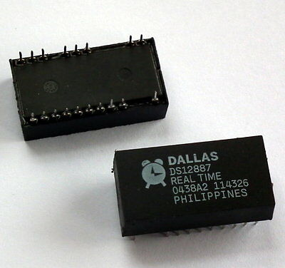Ds12887 Ic Dallas Real Time Clock /ram 128 Byte 24-Edip New 6Eqv - Uk