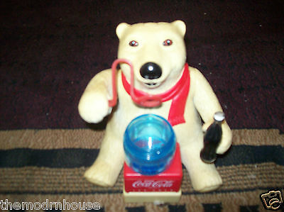 Coca Cola -Bubble -Polar Bear Vintage 70'S