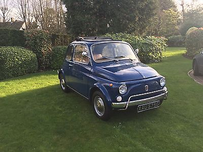 1969 Fiat 500L LHD Saloon Fully restored and in nearly condition