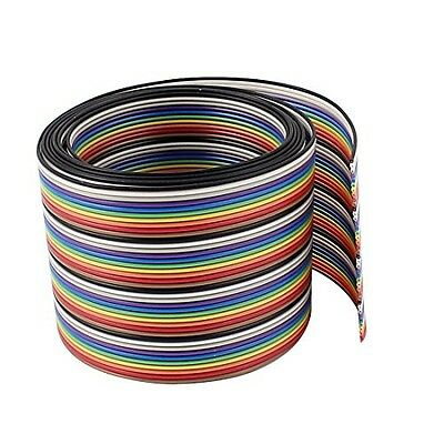 uxcell Uxcell 23 Pieces JTAG Header Ribbon Cable Connector Male Straight, 2.54