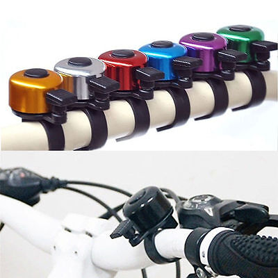 Waterproof Ping Metal Bell Alarm Safety Horn Ring Sound For Bike Bicycle Cycling