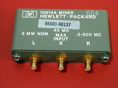 HP Model 10514A Mixer (0.2 - 500 MHz input)