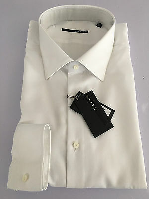 XACUS CEREMONY white shirt 100% cotone regular slim