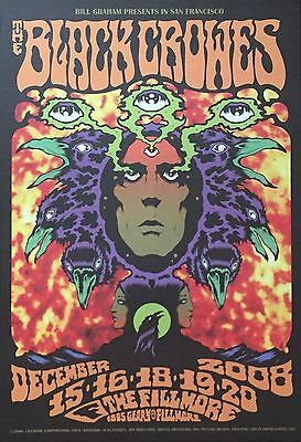 Black Crowes - Show Poster 2008