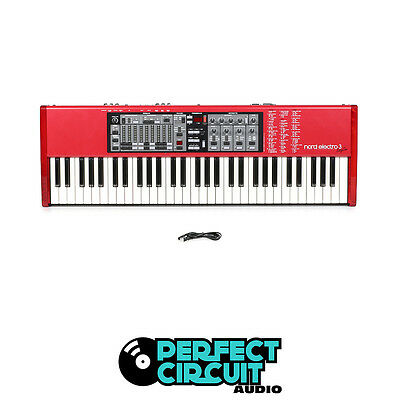 Nord Electro 3 Sixty One 61 Note Keyboard Combo ORGAN USED - PERFECT CIRCUIT