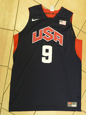 USA Basketball Dwyane Wade NBA Trikot Jersey Nike XL Olympia 2012 London