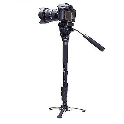 """""""Yunteng VCT-288 Photography Tripod Monopod WIth Fluid Pan Head Quick Rel... New"""
