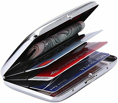 Latest Stainless Steel Rfid Blocking Credit Card Holder for Men & Women- ... New