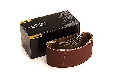 Mirka 57-2.5-14-080 2.5-Inch by 14-Inch Portable Abrasive Belt by weight Clot...