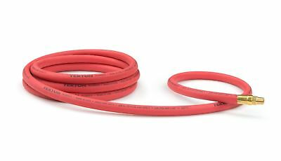 TEKTON 46334 3/8-Inch I.D. by 10-Foot 250 PSI Rubber Lead-In Air Hose with 1/...