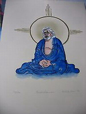 Jerry Garcia as the BODIEDHARMA-Original print run from Roberta Weir-MINT