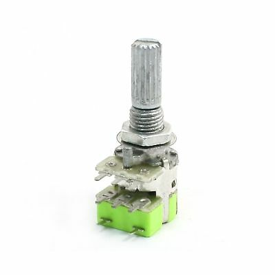 Uxcell B50K Dual Linear Taper Volume Control Potentiometer Switch 50K Ohm