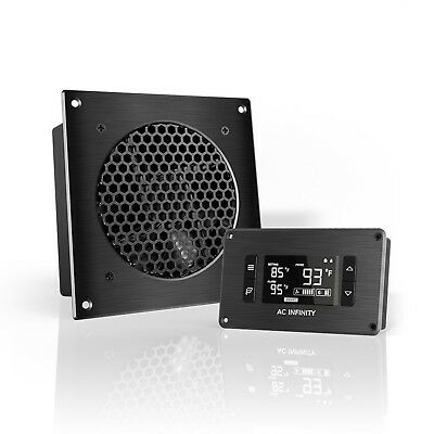 "AC Infinity AIRPLATE T3 Quiet Cooling Fan System 6"" with Thermostat Control f..."