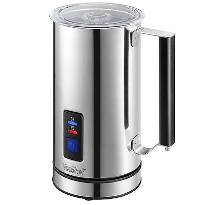 VonShef Premium Electric Milk Frother Warmer and Cappuccino Maker