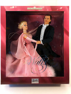 2003 The Waltz Barbie Doll and Ken Giftset - Limited Edition - NRFB