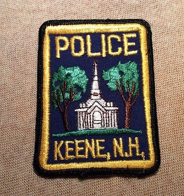NH Keene New Hampshire Police Patch